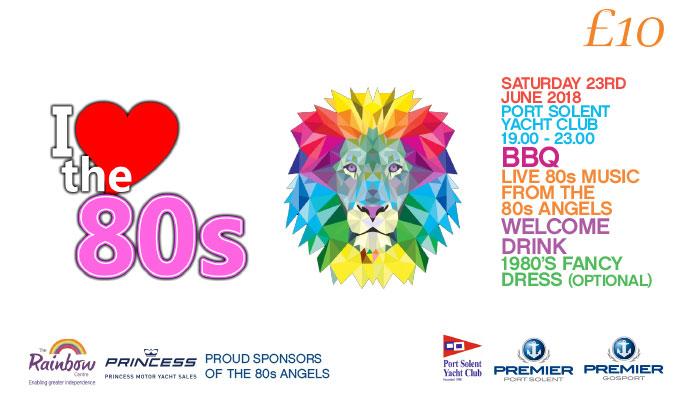 Port Solent Marina and Gosport Marina's 80s Themed Berth Holders Party
