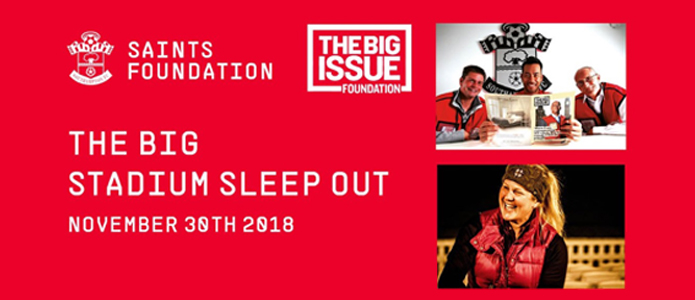 The Big Stadium Sleep Out for Charity