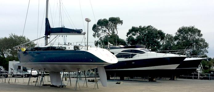 Chichester Marina Boatyard