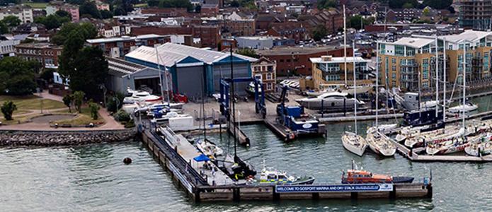 Gosport Marina link to Endeavour Quay