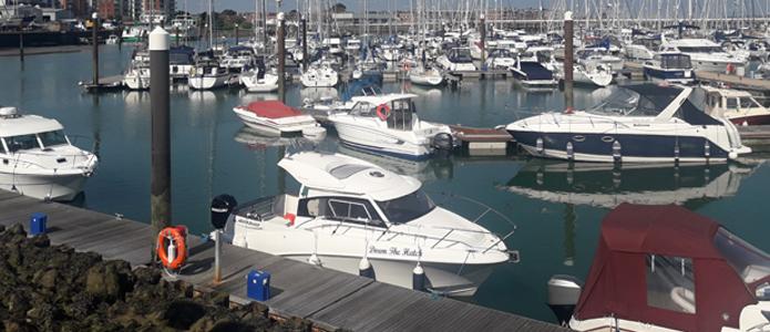 Gosport Marina Pontoon refurbishment