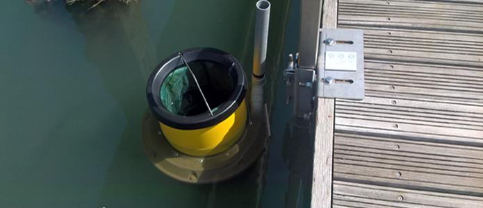 Seabin in Southsea Marina