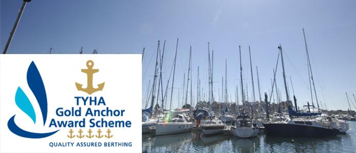 Southsea Marina awarded 5 gold anchors