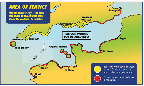 Sea Start Map