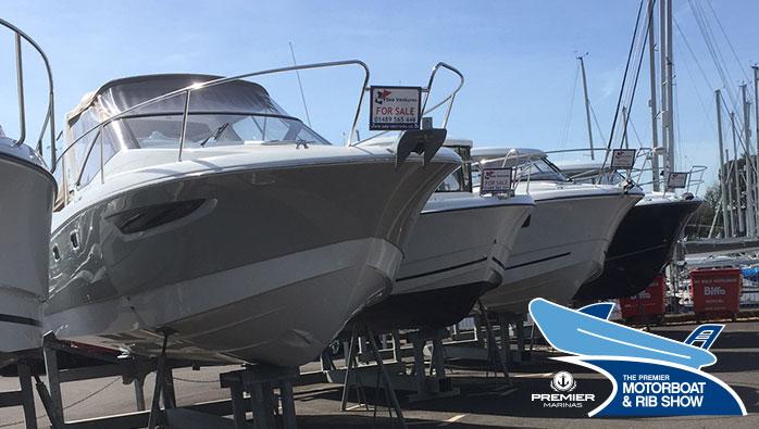 Premier Marinas' Spring Boat Show - 2018 Motorboat and RIB Show at Swanwick Marina