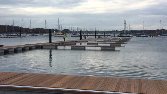 Swanwick Marina | Pontoon Development