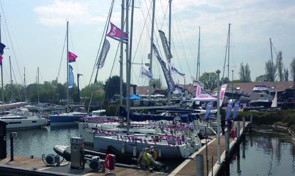 Chichester Marina Boat Show