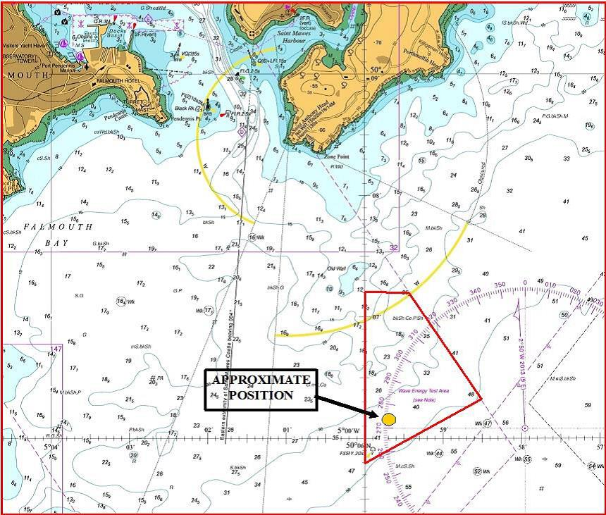 Falmouth Port notice to mariners no 20 of 2019