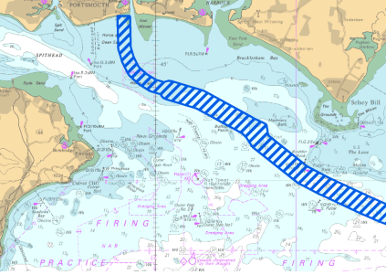 Eastern Solent Cable Route Survey - QHM Notice to Mariners 40 of 2018