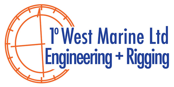 1 Degree West Logo