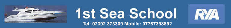 1st Sea School Logo