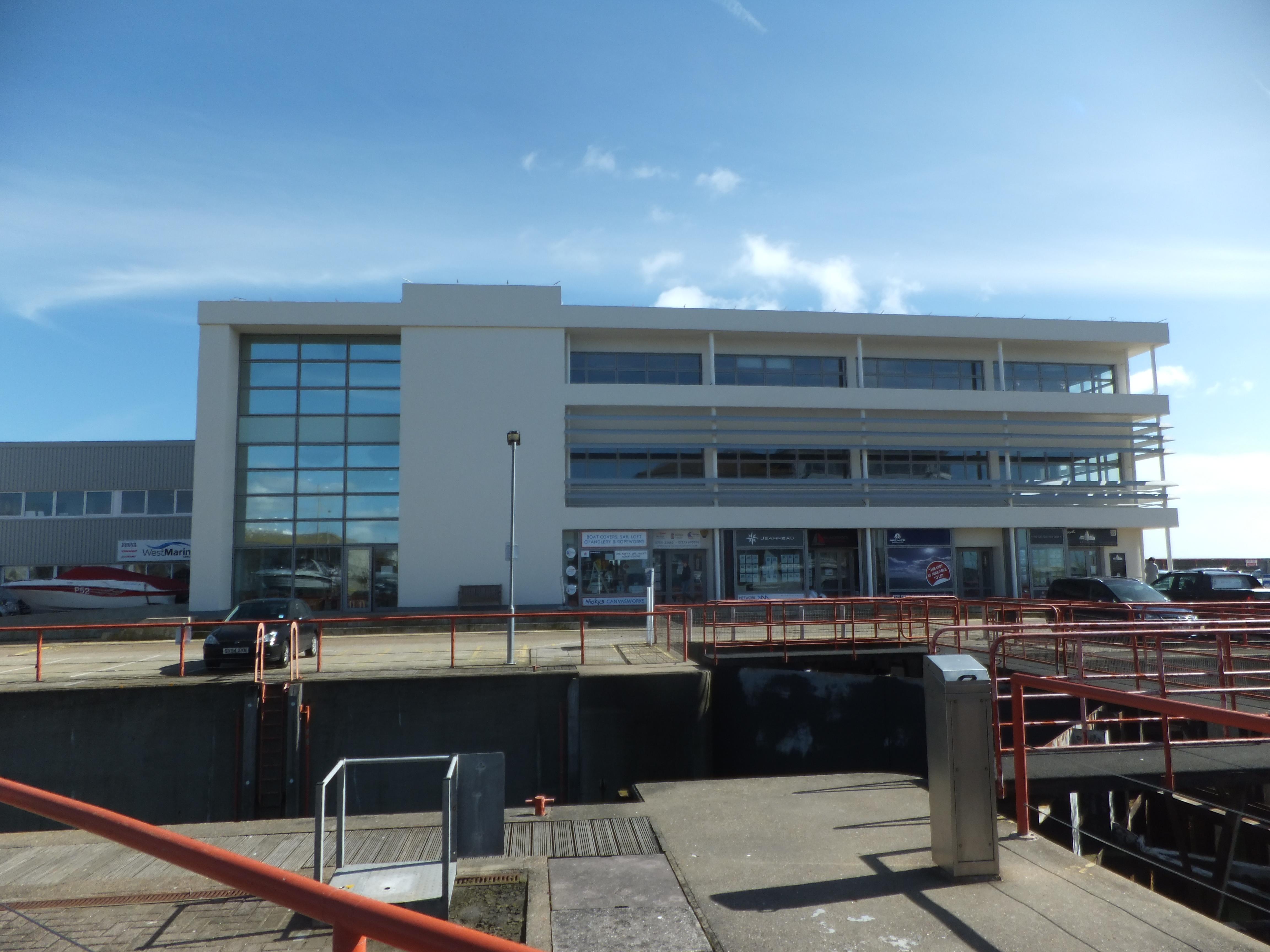 Brighton East Lockside  First Floor Lock View