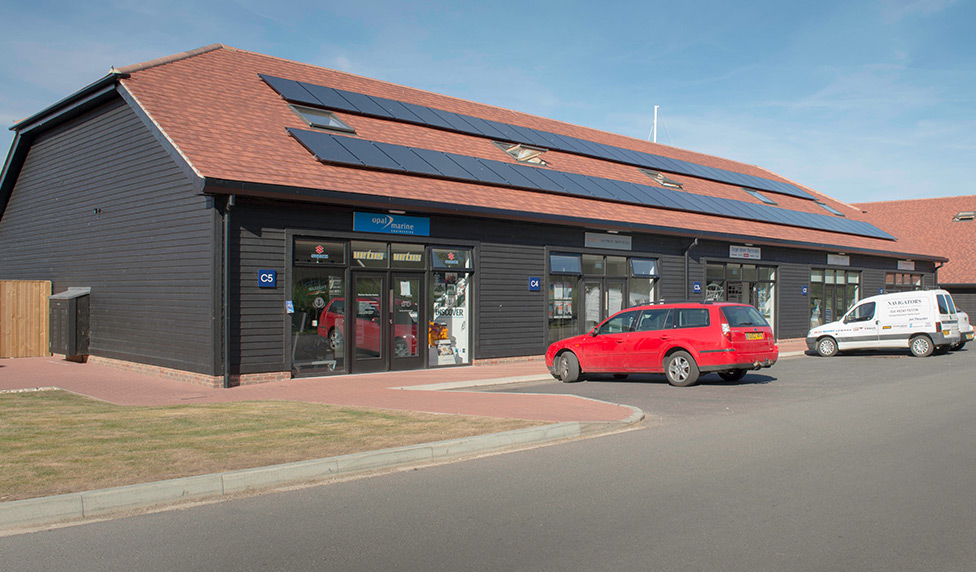 Building C Unit 5 to let at Chichester Marina