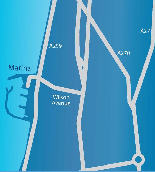 Brighton Road Map