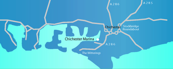 Chichester Road Map