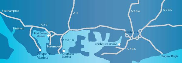 Southsea Road Map