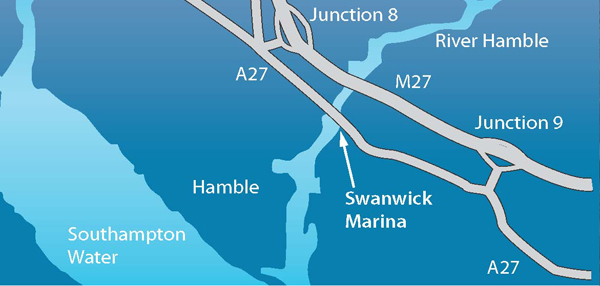 Swanwick Road Map