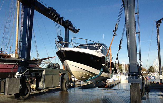 Boatyard Services at Premier's 9 South Coast Marinas