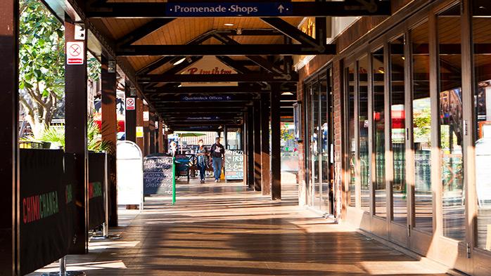 Shopping at Port Solent Marina