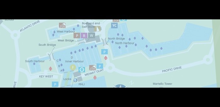 Sovereign Harbour Marina Map