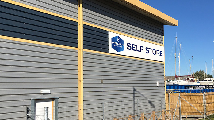Self Store Facilities at Port Solent Marina