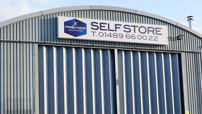 Self Store Facilities at Swanwick Marina