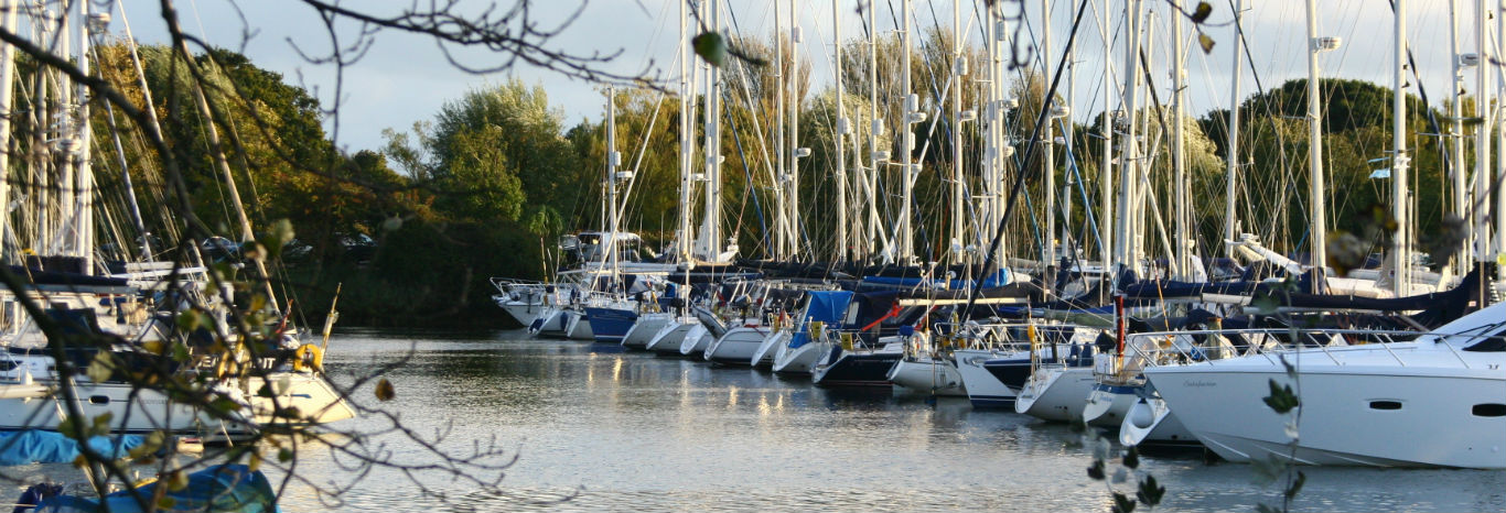 Chichester marina and boatyard