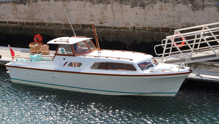 Project 31 Princess Motor Yachts First Model