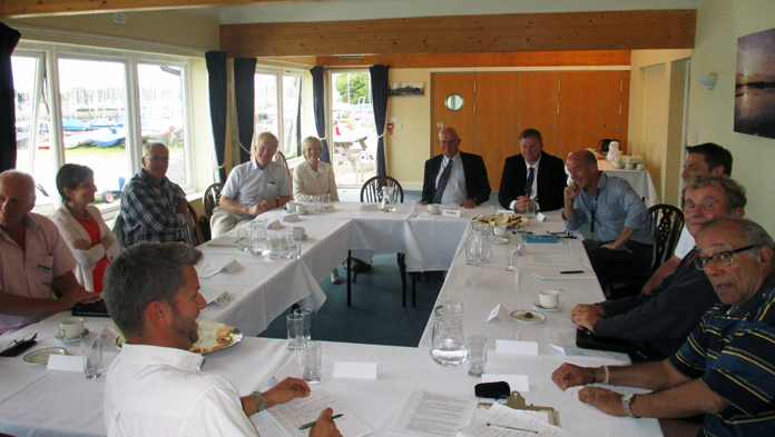 Focus Group Meeting At Chichester Marina