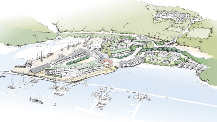 Planning Application at Noss on Dart Marina