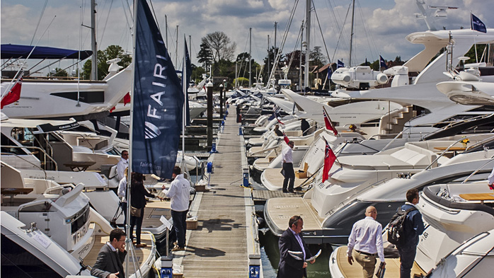 The BMYS Motor Yacht Show returns - Swanwick Marina 16th to 18th May 2014
