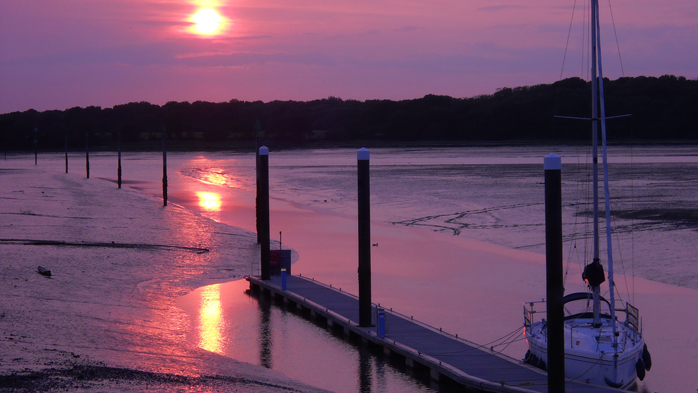 Chichester Harbour sunset