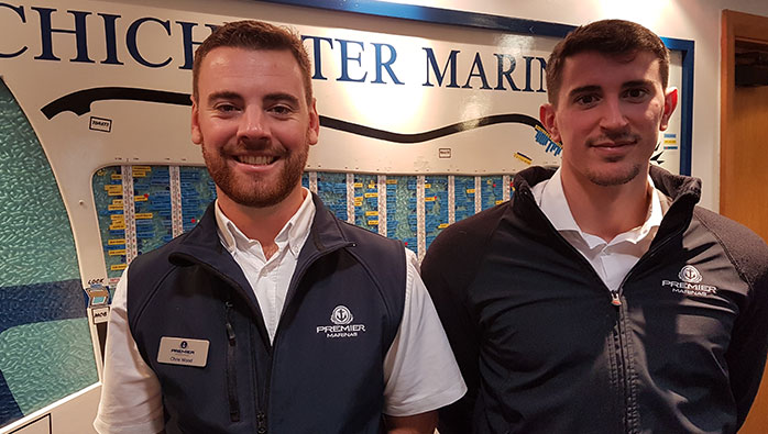 New Duty Managers at Chichester Marina