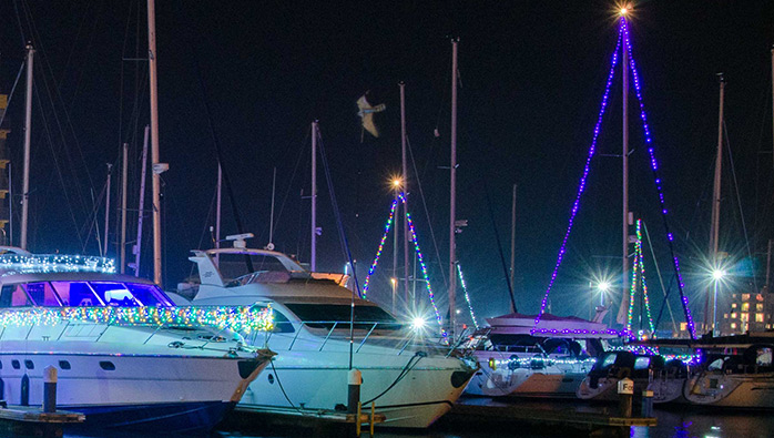 Light up The Hamble at Swanwick Marina