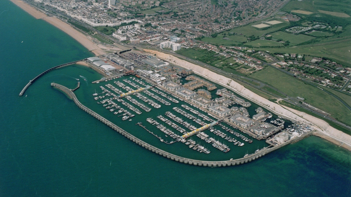 Brighton Marina From Above