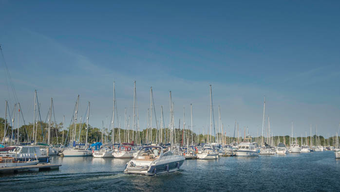 Cruising At Chichester Marina