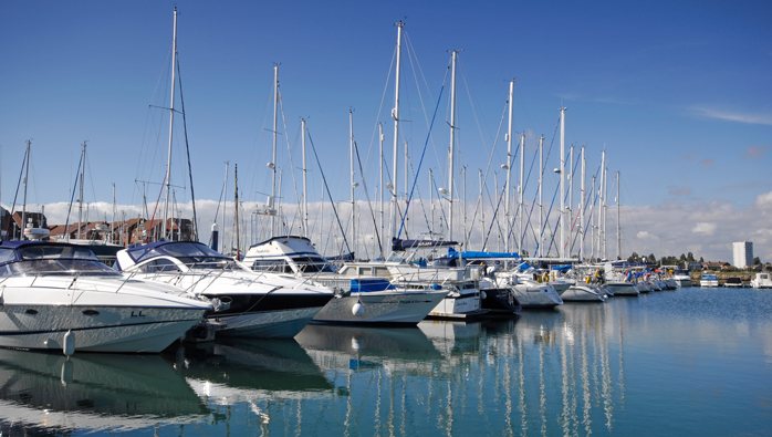 Southsea Marina Receives 5 Gold Anchors