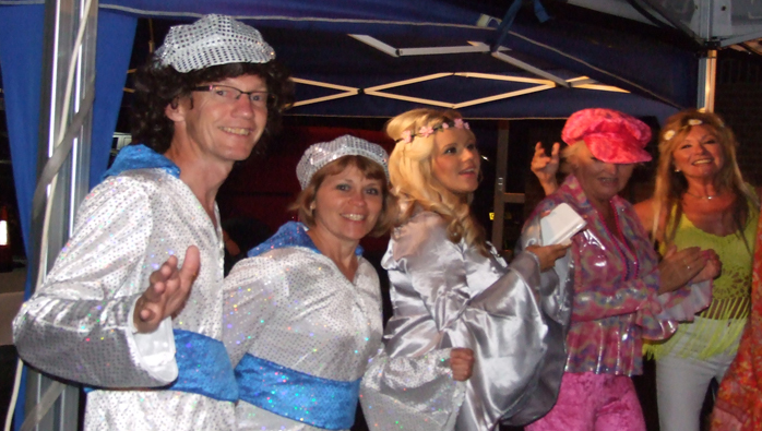 Southsea Marina ABBA Party