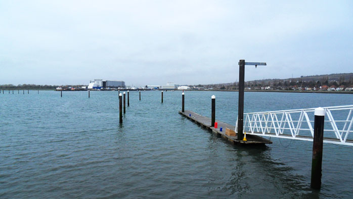 Port Solent Entrance Channel