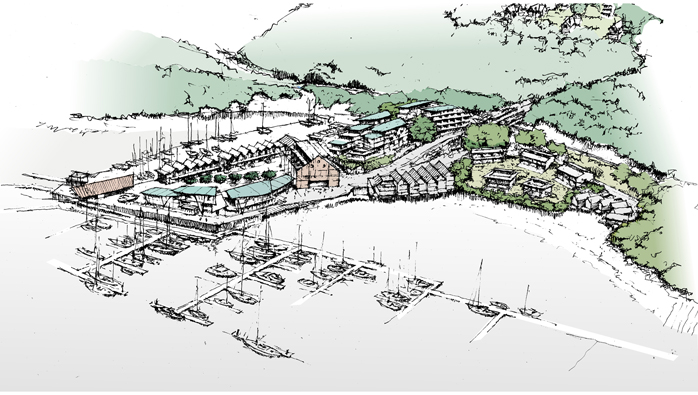 Development Plans for Noss Marina