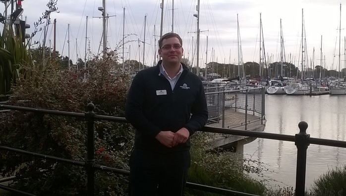 Luke Stringer New Duty Manager at Chichester Marina