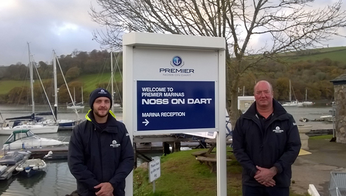 Falmouth Marina Staff Members Pass RYA Theory Course