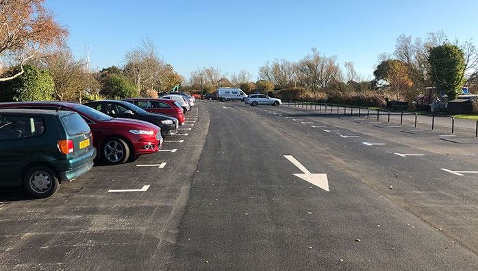 New Car Park Now Open at Chichester Marina