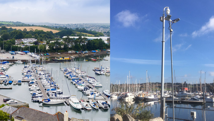 Falmouth Security Upgrades