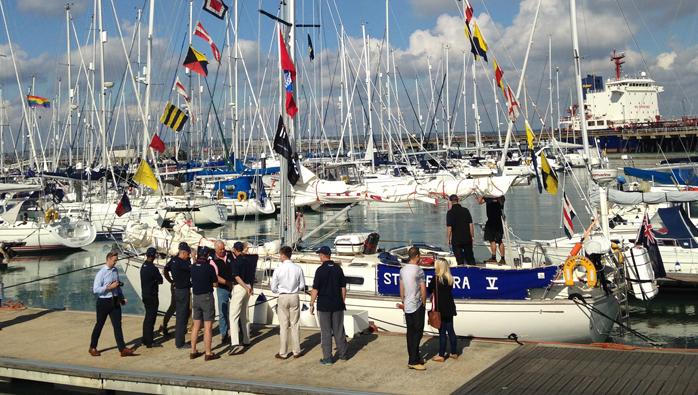 Gosport Marina Welcomes Artillery