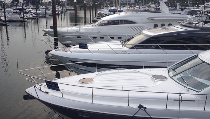 Boats for Sale at Swanwick Marina