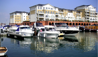Visiting Eastbourne by boat