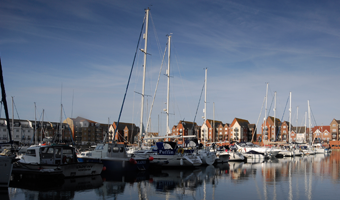 Winter safe-haven Eastbourne Marina