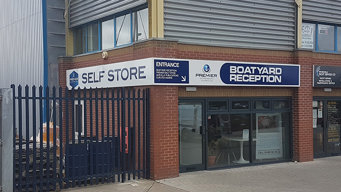 Self Store facilities at Sovereign Harbour Marina, Eastbourne