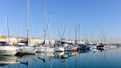 Summer cruising, seasonal berthing in luxury marinas